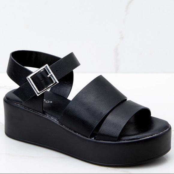 7981f582143 Black Platform Sandals